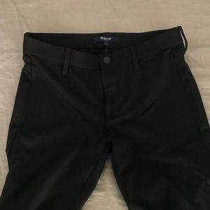 Madewell Black Legging Pants Ankle Zip Size 2